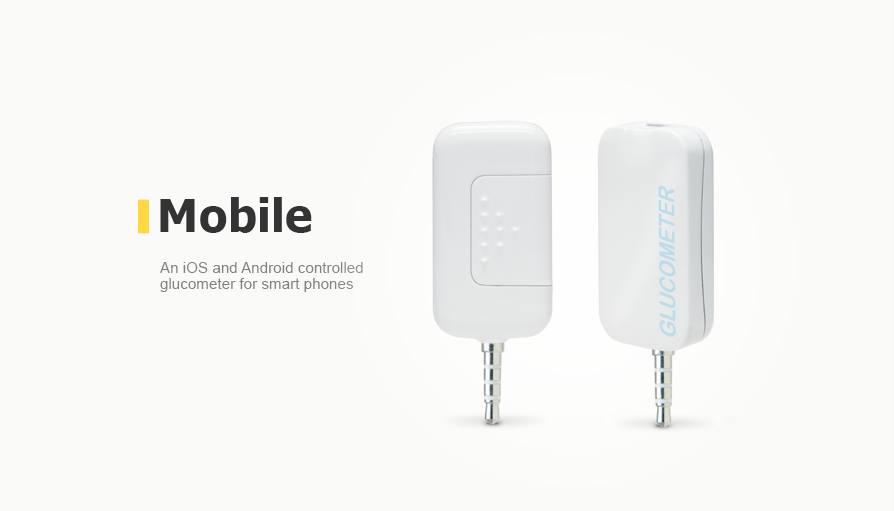 An iOS and Android controlled glucometer for smart phones
