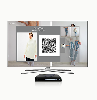 AI application for set-top box: searching and buying products from video streaming