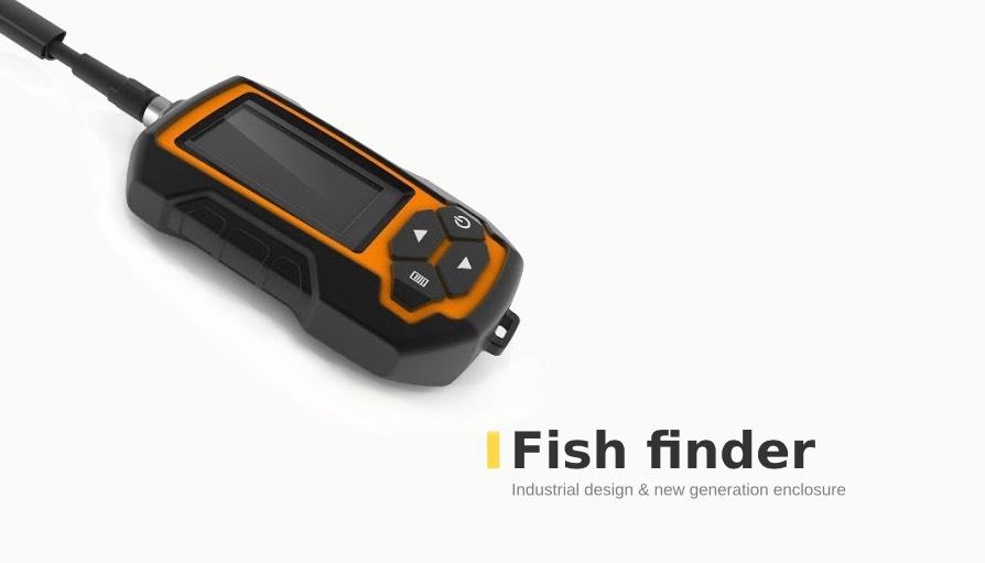 Fish finder Industrial design & new generation enclosure