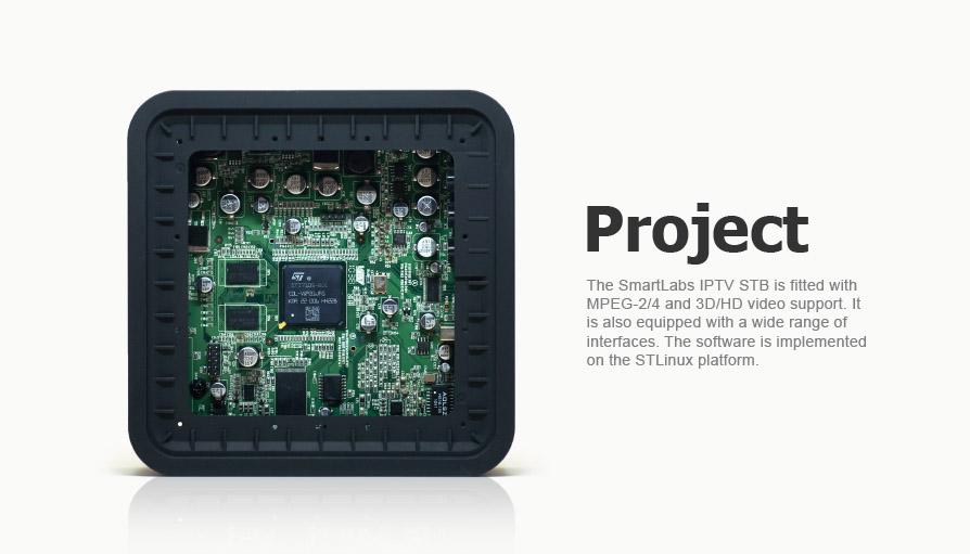 The development of the hardware platform for  IPTV set-top box