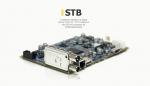 design of a digital set-top DVB-T/C + IPTV based on the STi7 167 processor by STMicroelectronics